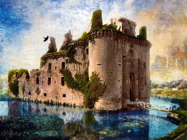 Photograph - Caerlaverock Castle by Carlos Diaz