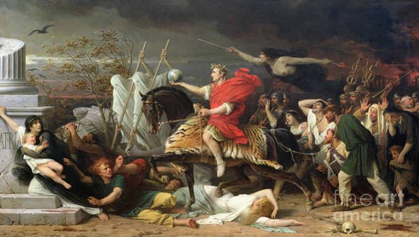 Cesar Wall Art - Painting - Caesar by Adolphe Yvon