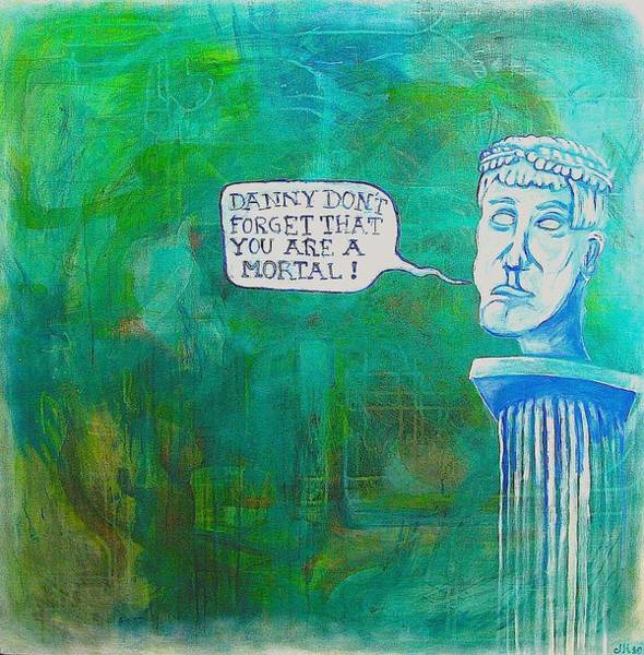 Crown Imperial Painting - Caesars Advice by Danny Hennesy