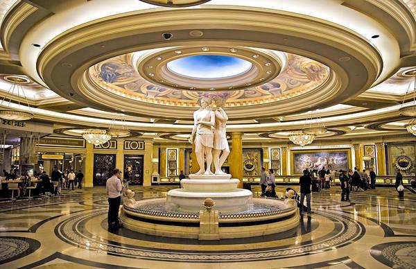 Fabulous Photograph - Caesars Palace V by Ricky Barnard