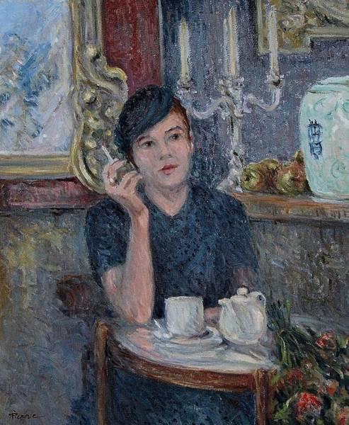 Cafe De Paris  Art Print