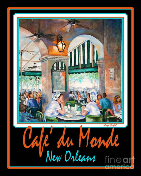 Painting - Cafe Du Monde by Dianne Parks
