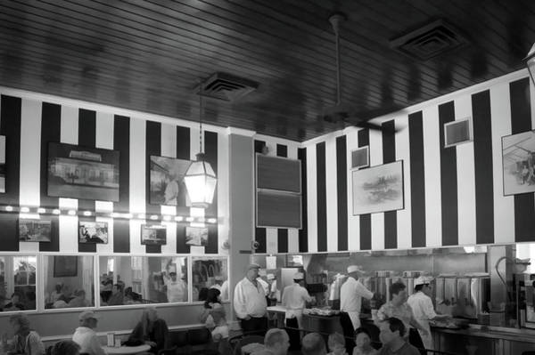 Wall Art - Photograph - Cafe Du Monde In Black And White by Art Spectrum