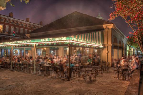 Nola Photograph - Cafe Du Monde by Steve Ellenburg