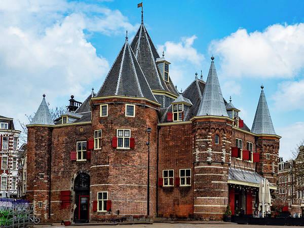 Photograph - Cafe In De Waag by Paul Wear