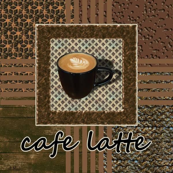 Photograph - Cafe Latte - Coffee Art - Caramel by Anastasiya Malakhova