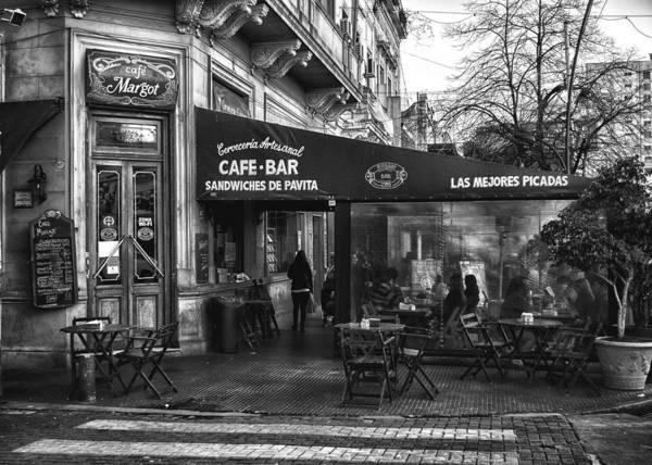 Cabildo Wall Art - Photograph - Cafe Margot Buenos Aires by Hans Wolfgang Muller Leg