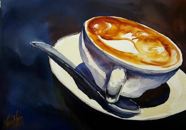 Wall Art - Photograph - Cafe Noisette by James Nyika