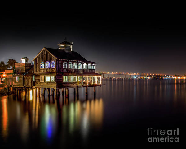 Photograph - Cafe On The Port by Ken Johnson