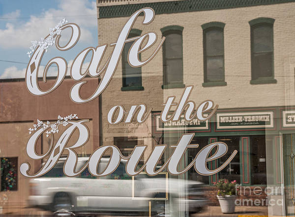 Photograph - Cafe On The Route by Sue Smith