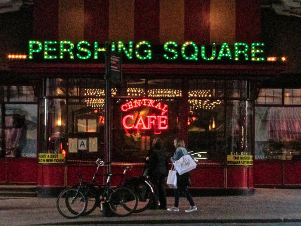 Photograph - Cafe Pershing Square by Steven Lapkin