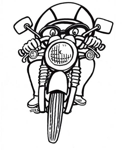 Bmw Motorcycle Drawings