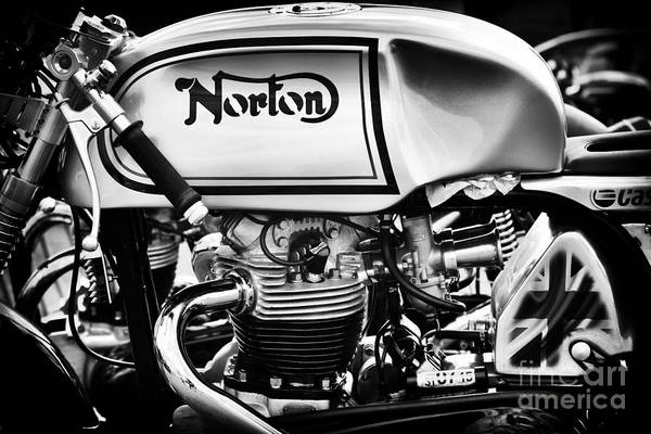 Photograph - Cafe Racing Norton by Tim Gainey