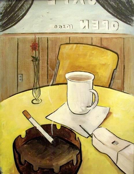 Cafe Still Life Art Print