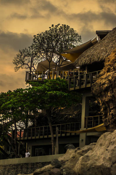 La Libertad Photograph - Cafe Sunzal by Totto Ponce