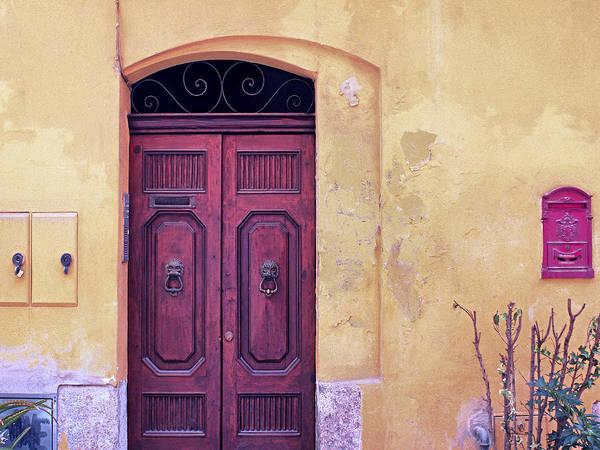 Photograph - Cagliari Doorway by Dominic Piperata
