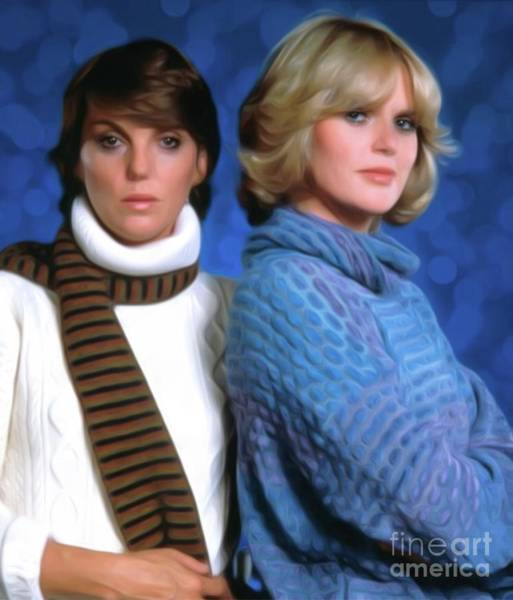 Show Business Wall Art - Digital Art - Cagney And Lacey by Mary Bassett