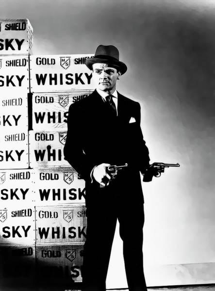 Prohibition Digital Art - Cagney Prohibition Kingpin by Daniel Hagerman