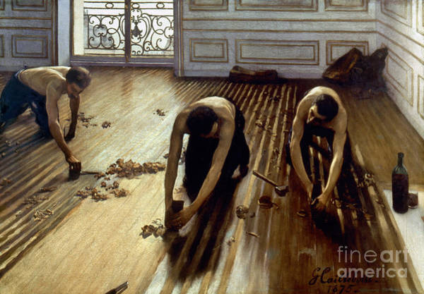 Photograph - Caillebotte: Planers, 1875 by Granger