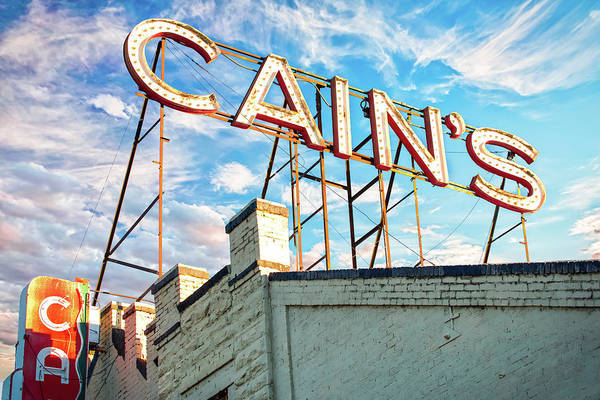 Wall Art - Photograph - Cains Ballroom Music Hall - Downtown Tulsa Cityscape by Gregory Ballos