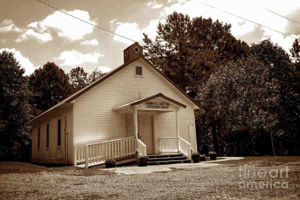 Pioneer School Photograph - Caio School House S by John Myers
