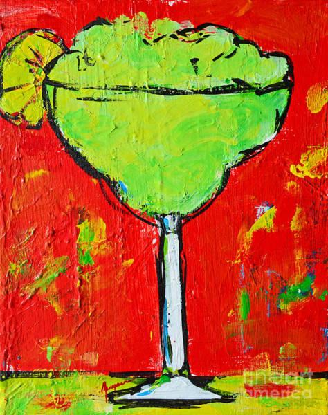 Painting - Caipirinha - Tropical Drink by Patricia Awapara
