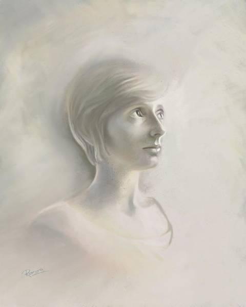 Relief Digital Art - Caira by Ramona MacDonald