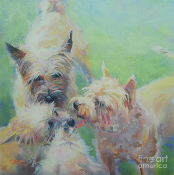 Wall Art - Painting - Cairn Kisses by Kimberly Santini