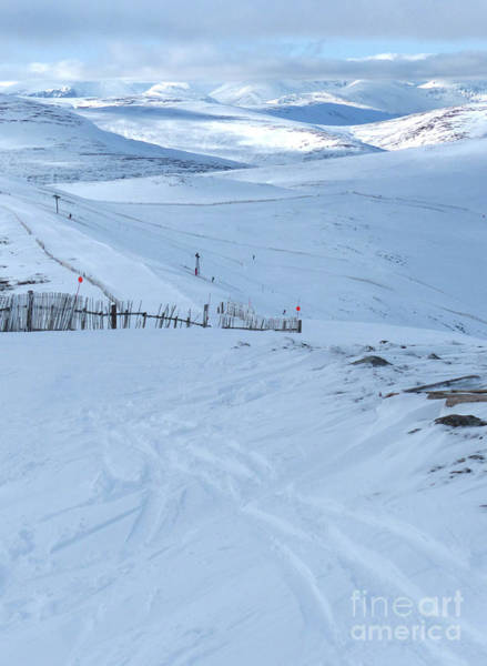 Photograph - Cairngorms From Glenshee Ski Area by Phil Banks