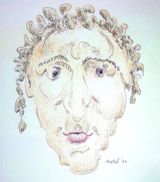 Drawing - Caius Lividicus by Dave Martsolf