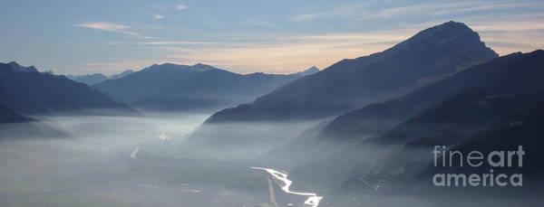 Swiss Alps Wall Art - Photograph - Calanda Mist by DiFigiano Photography