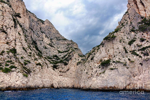 Wall Art - Photograph - Calanque Art by Olivier Le Queinec