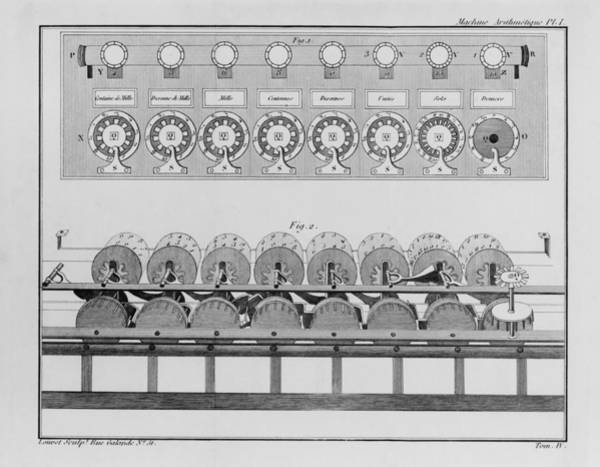 Tc Photograph - Calculating Machine Designed By French by Everett