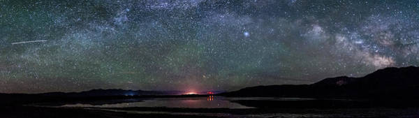 Photograph - Caldera Milky Way by Cat Connor
