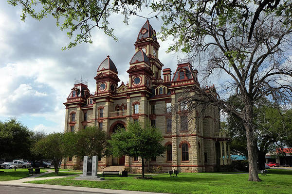 Caldwell County Courthouse Art Print