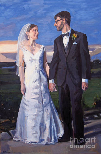 Painting - Cale And Liz by Deb Putnam