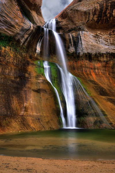 Photograph - Calf Creek Falls by Ryan Smith
