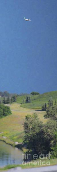 Photograph - Calgary Plane Landing by Donna L Munro