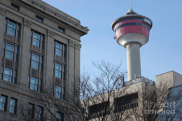 Photograph - Calgary Tower by Wilko Van de Kamp