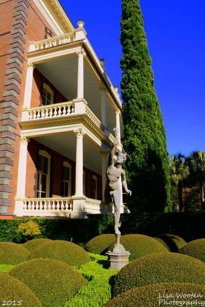 Photograph - Calhoun Mansion Gardens Charleston Sc by Lisa Wooten