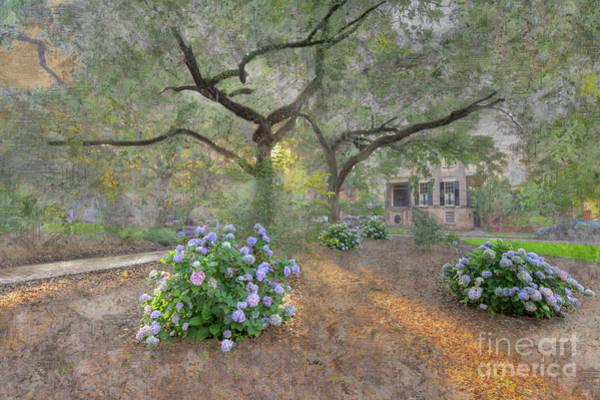Park Bench Digital Art - Calhoun Square  by Larry Braun