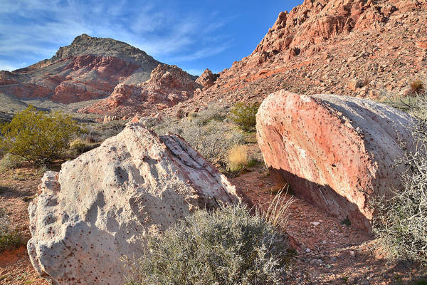 Photograph - Calico Basin Boulders by Ray Mathis