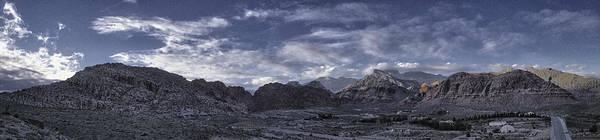 Calico Basin Panorama Art Print