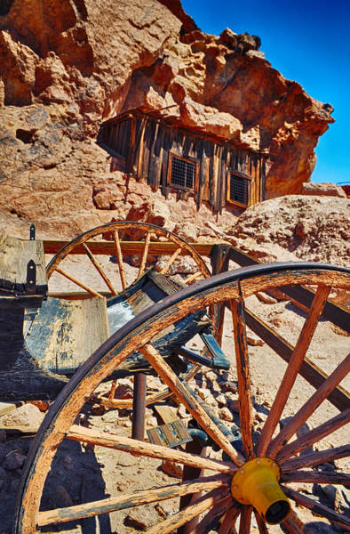 Wall Art - Photograph - Calico Ghost Town Mine by Kyle Hanson