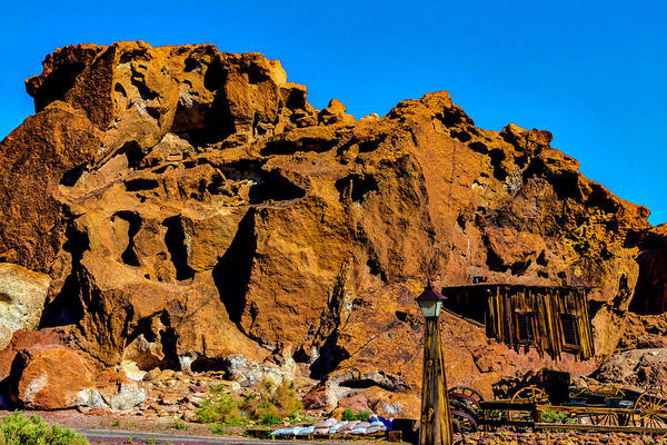 Wall Art - Photograph - Calico Miners Shack by Garry Gay