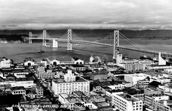 Painting - California: Bay Bridge by Granger