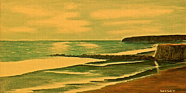Painting - California Coast by Frank Hunter