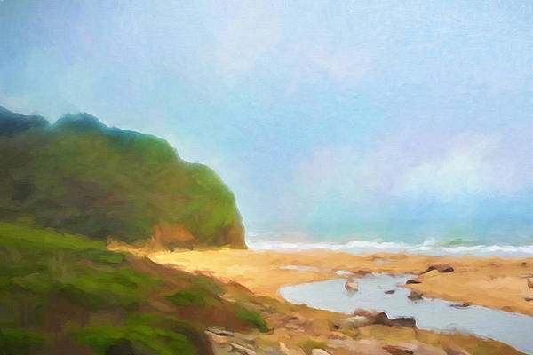 Painting - California Coast by Lutz Baar