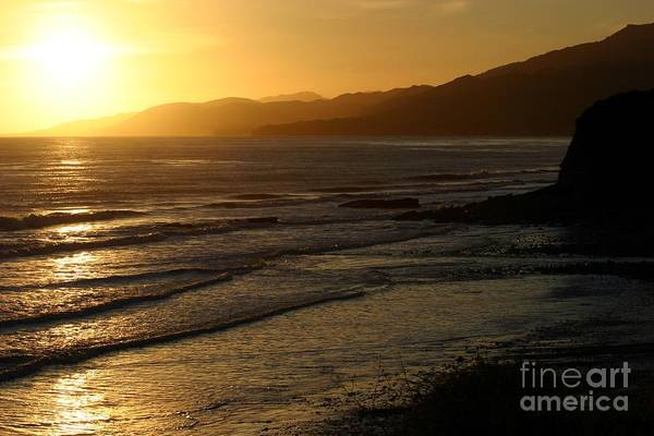 Photograph - California Coast Sunset by Balanced Art