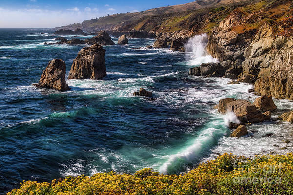 Photograph - California Coastline by Anthony Michael Bonafede